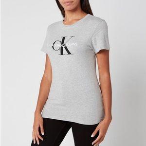 Calvin Klein Monogram Logo Regular Fit T-shirt - M